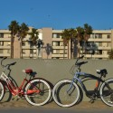 Bicycle Trip to Venice Beach: Our bikes