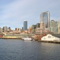Seattle Skyline From The Ferry