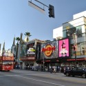 Cruising in LA: Hard Rock Cafe