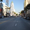 Cruising in LA: on Hollywood Boulevard