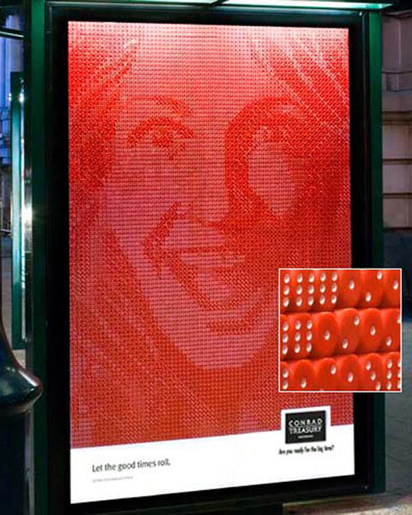 7653 Dices Creative Billboard