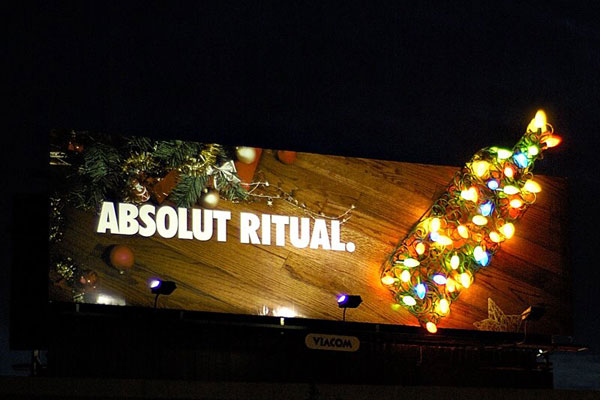 Absolut Ritual Creative Billboard