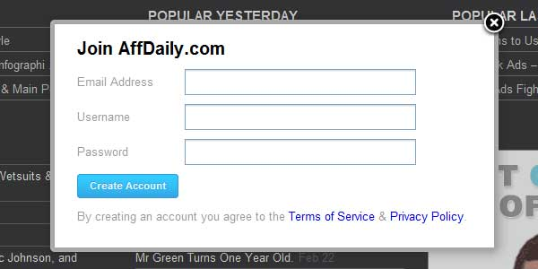 affdaily signup