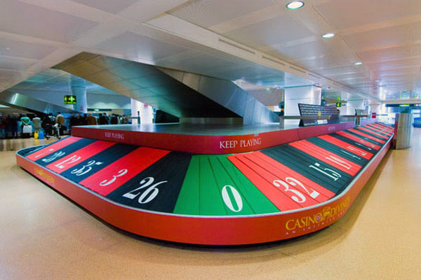 Airport Casino Belt Roulette Creative Billboard