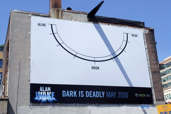Alan Wake Creative Billboard
