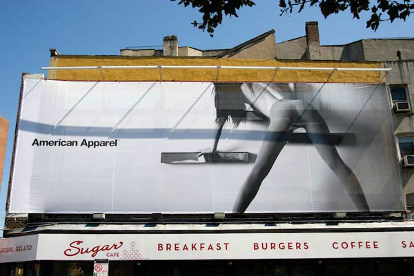 American Apparel Creative Billboard