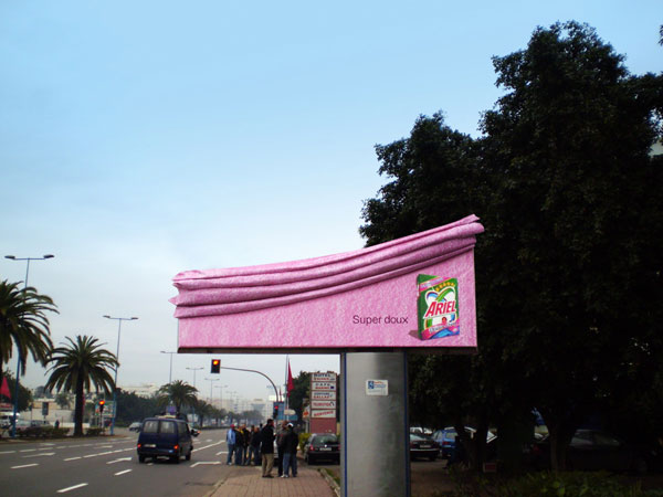 Ariel Super Soft Creative Billboard