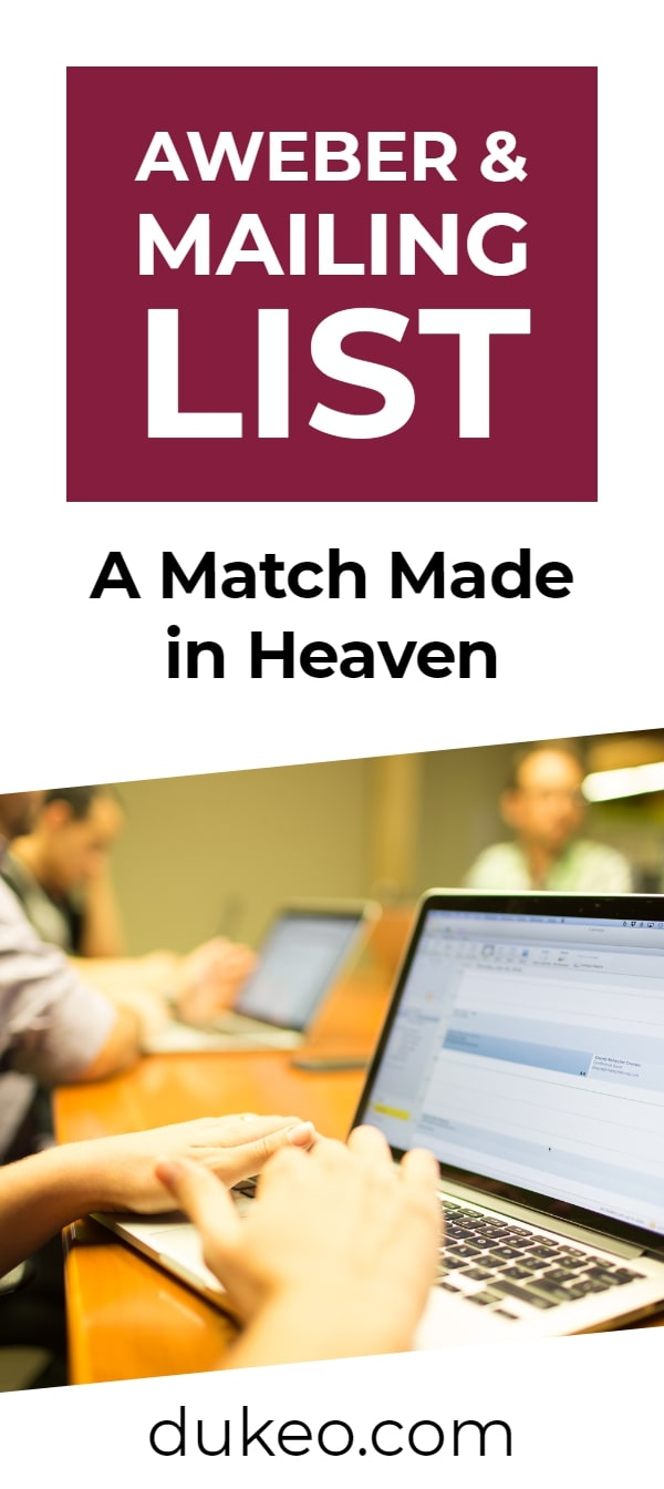 Aweber & Mailing List: A Match Made in Heaven