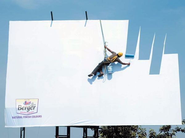 Berger Paints Creative Billboard
