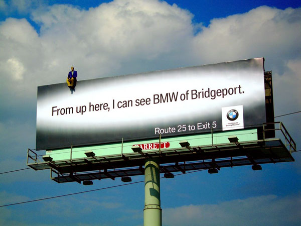 BMW Bridgeport Creative Billboard