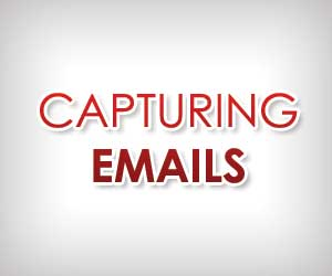 capturing emails