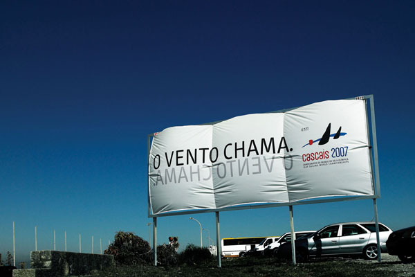 Cascais Sailing Creative Billboard