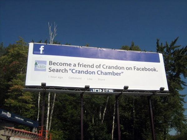 Crandom Chamber Facebook Creative Billboard