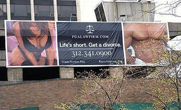 Divorce Lawyer Creative Billboard