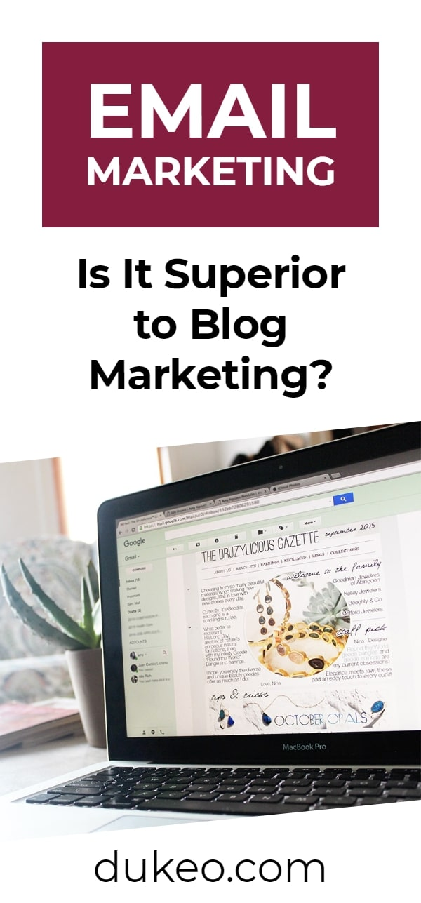 Email Marketing: Is It Superior to Blog Marketing?