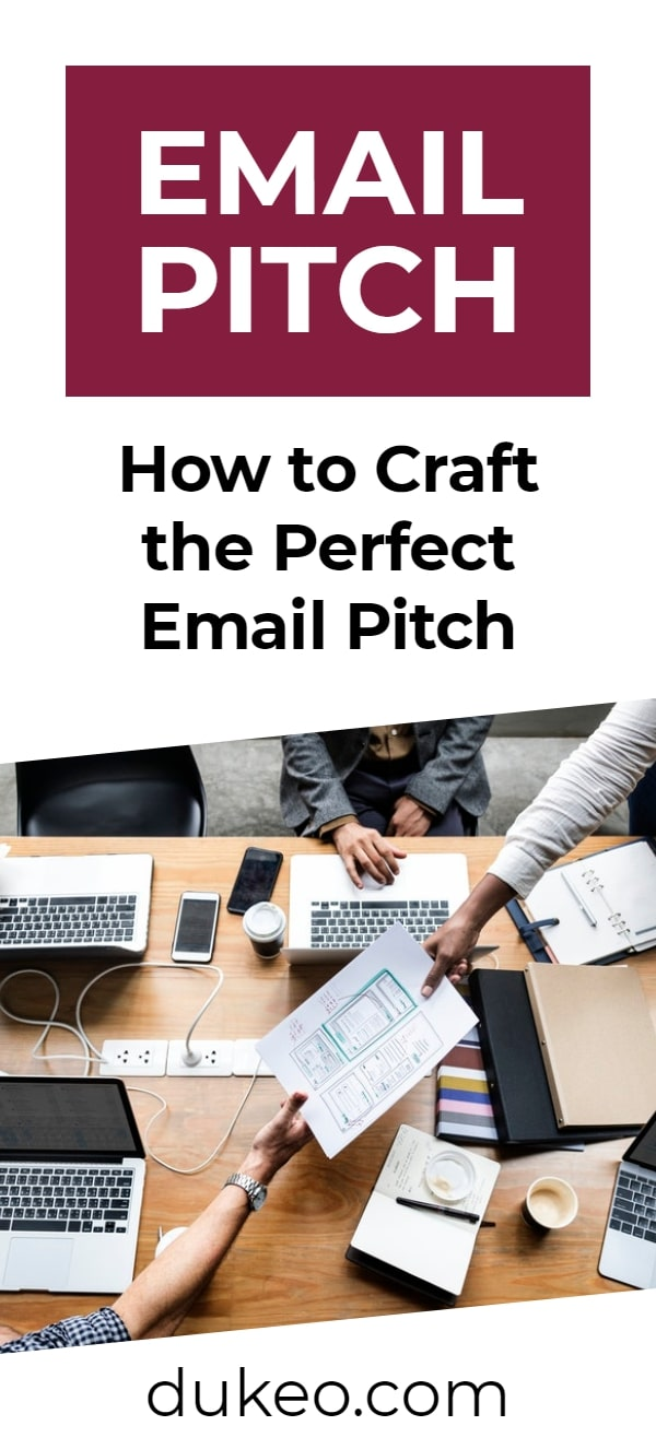 Email Pitch: How to Craft the Perfect One