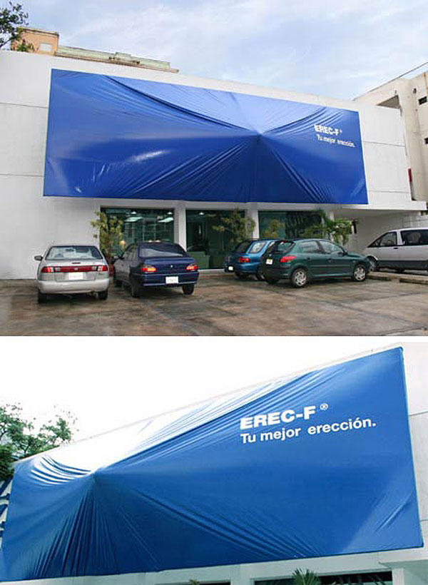 Erection Creative Billboard