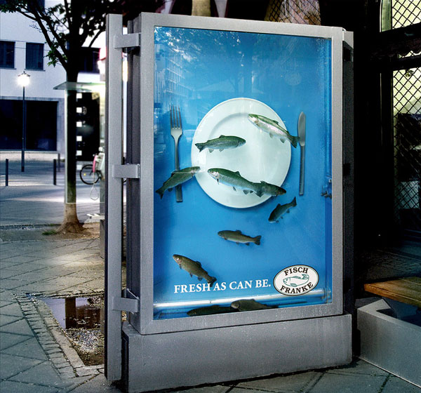 Fish Tank Creative Billboard