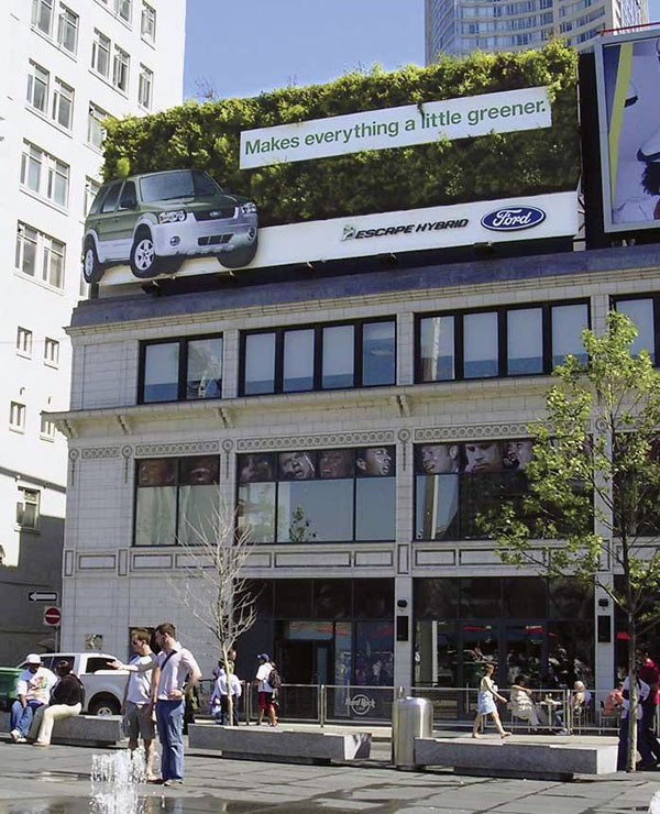 Ford Grass Creative Billboard