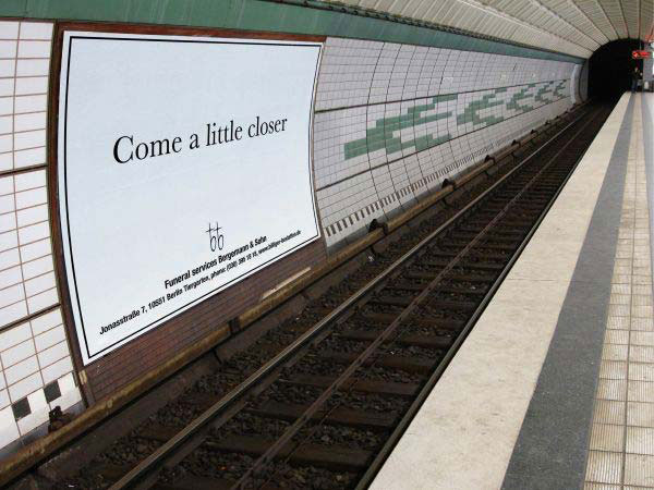 Funeral Services Creative Billboard