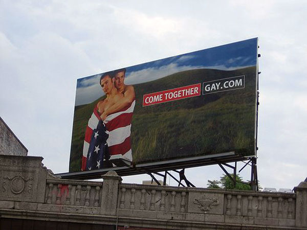 Gay Together Creative Billboard