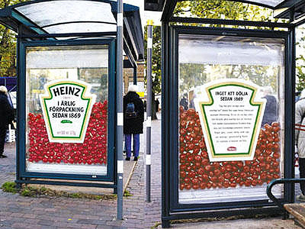 Heinz What You See Is What You Get Creative Billboard