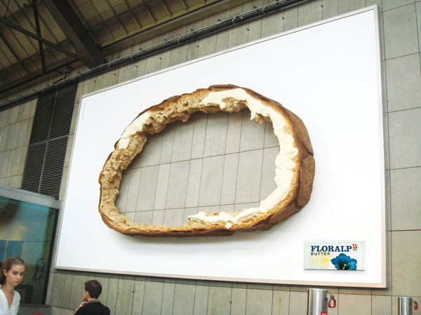 Hole Bread Creative Billboard