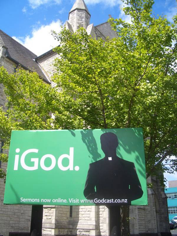 iGod Church Creative Billboard