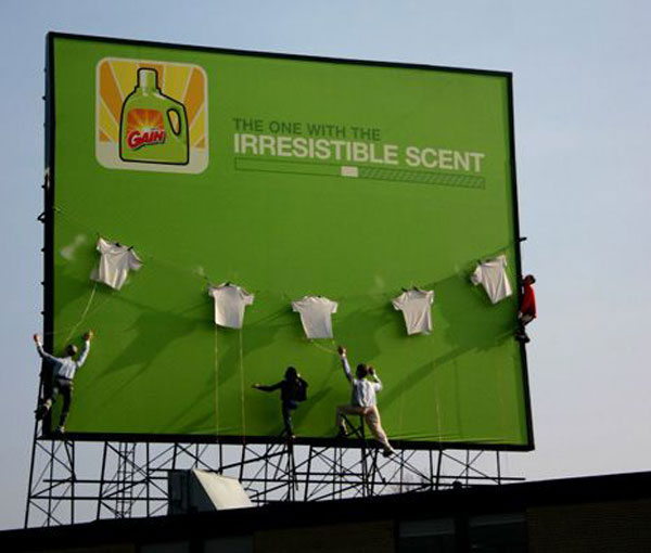 Irresistible Scent Creative Billboard