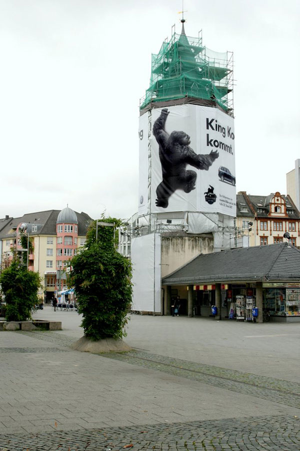 King Kong Creative Billboard