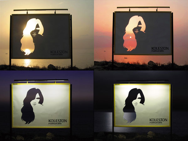 Koleston Naturals Change Creative Billboard