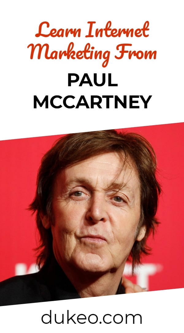 Learn Internet Marketing From Paul McCartney