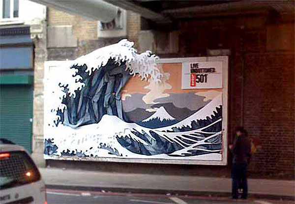 Levis Jeans Creative Billboard