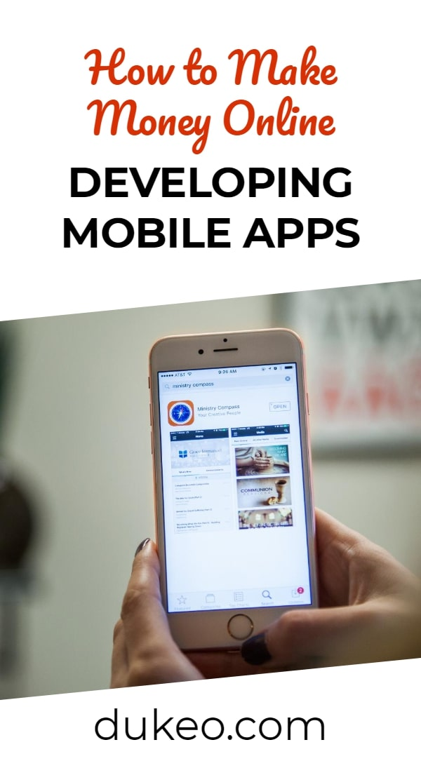 How to Make Money Online Developing Mobile Apps