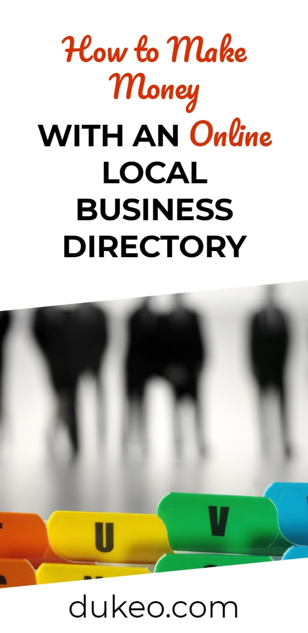How to Make Money with an Online Local Business Directory