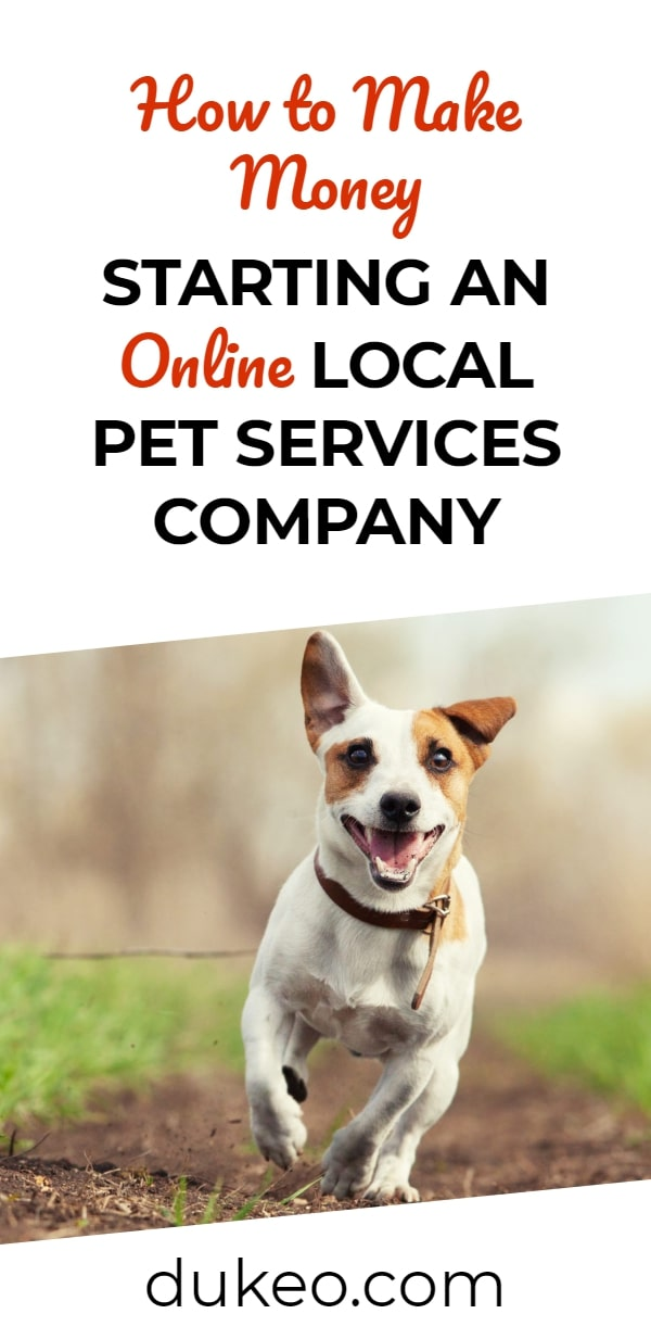 How to Make Money Starting an Online Local Pet Services Company
