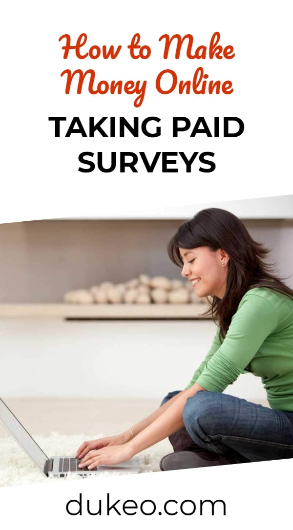 How to Make Money Online Taking Paid Surveys