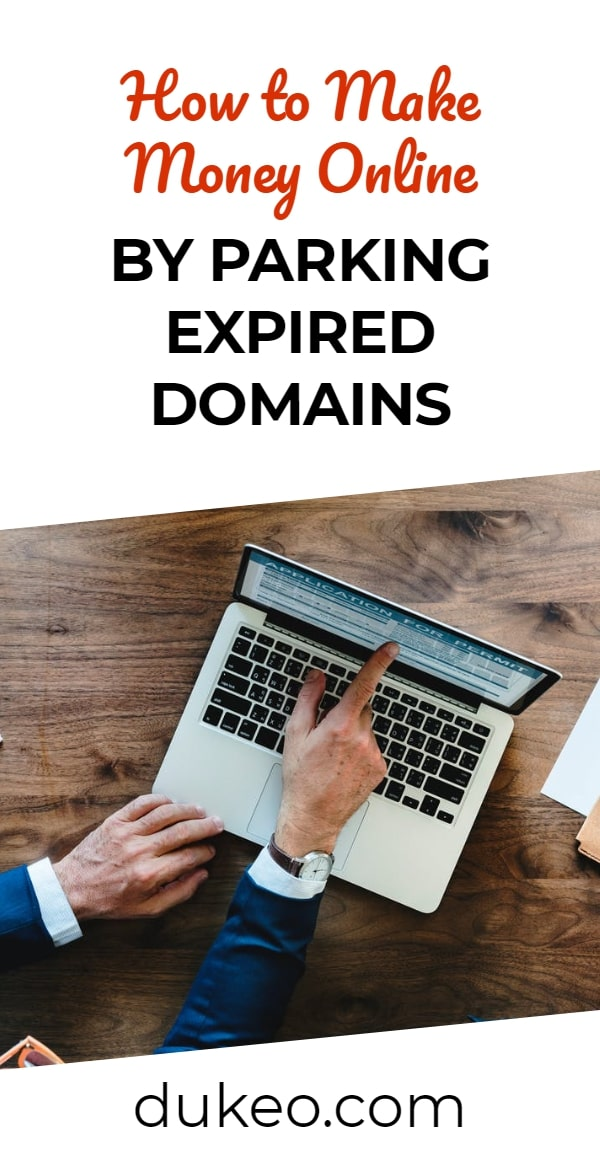 How to Make Money Online by Parking Expired Domains