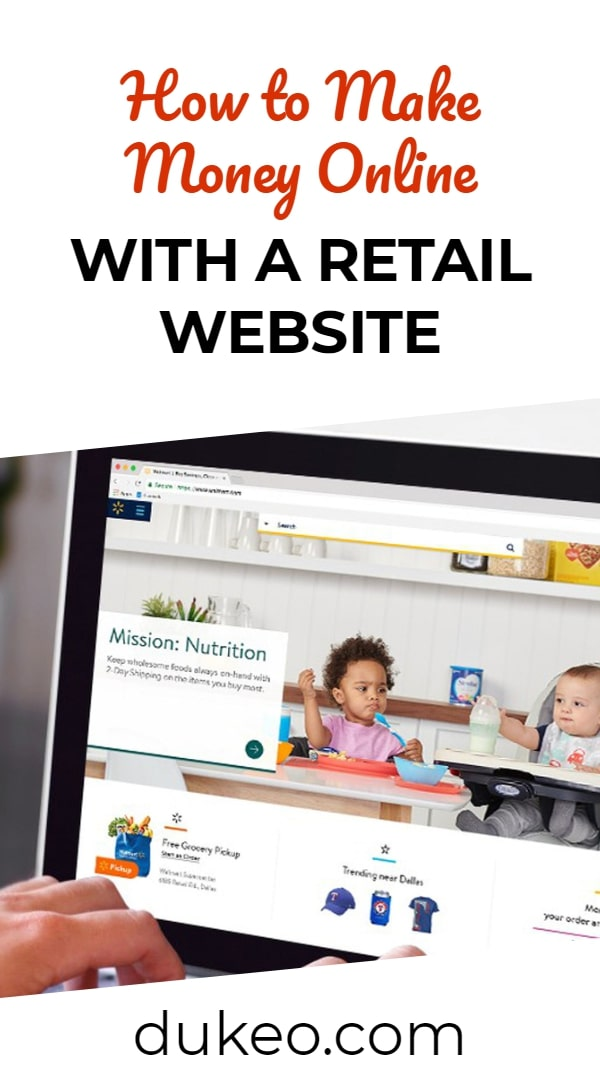 How to Make Money Online with a Retail Website