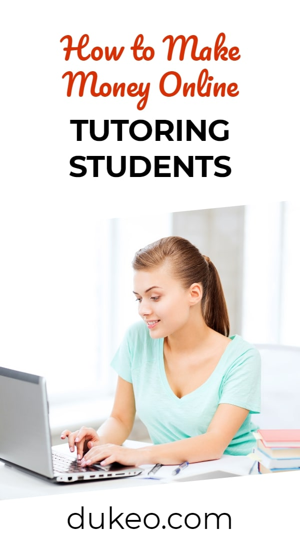 How to Make Money Online Tutoring Students