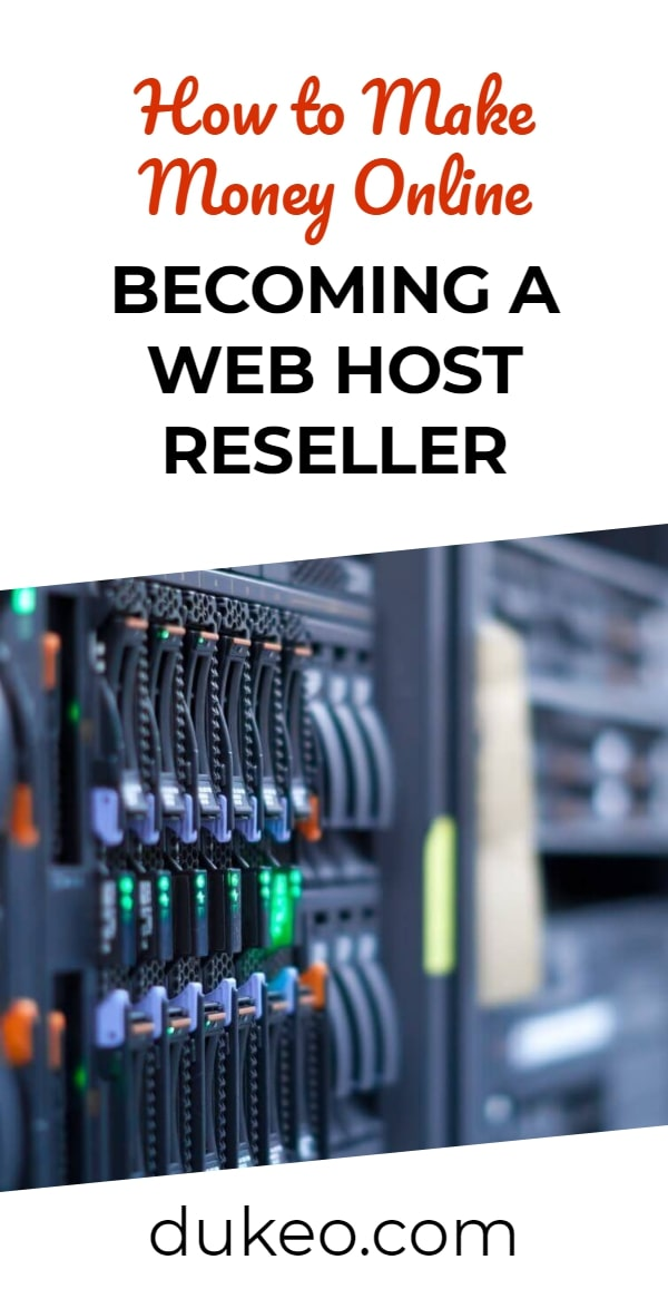 How to Make Money Online Becoming a Web Host Reseller