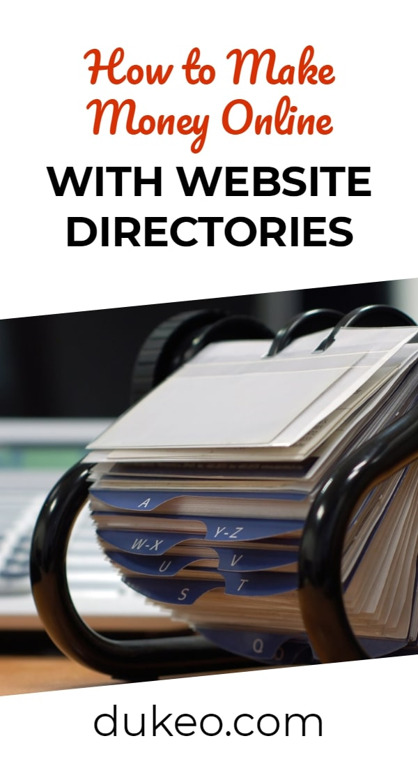 How to Make Money Online with Website Directories