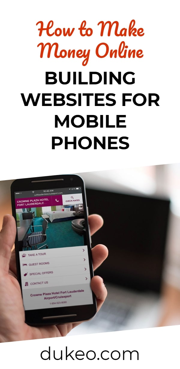 How to Make Money Online Building Websites for Mobile Phones