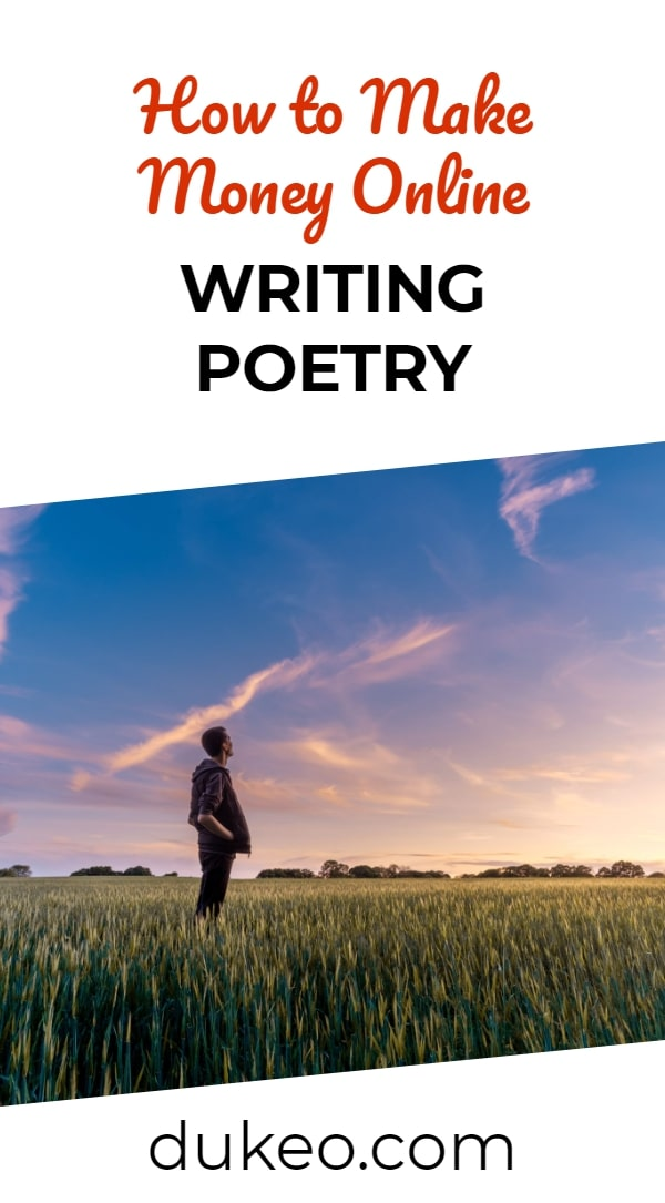 How to Make Money Online Writing Poetry