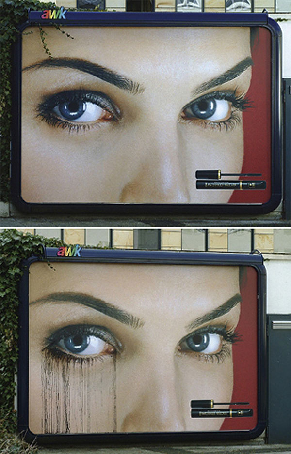 Mascara Creative Billboard