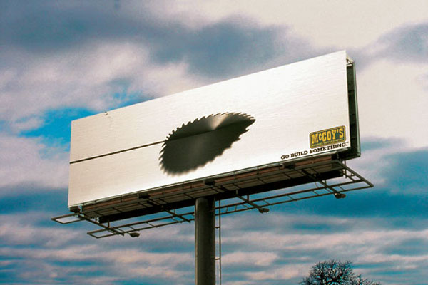 Mc Coys Circular Saw Creative Billboard