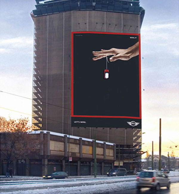 Mini Yoyo Creative Billboard