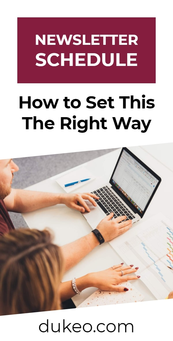 Newsletter Schedule: How to Set This The Right Way