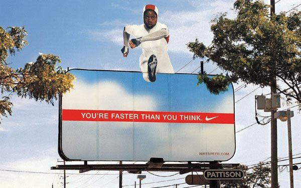Nike Jumper Creative Billboard