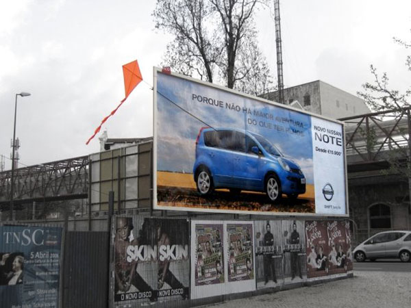 Nissan Kite Creative Billboard